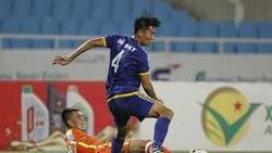Bình Định đã thắng Phù Đổng trên sân khách ở trận lượt đi. Ảnh: MINH HOÀNG