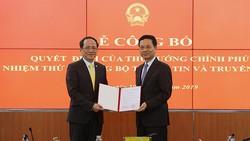 Công bố tân Thứ trưởng Bộ Thông tin và Truyền thông