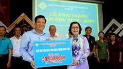 Hơn 3 tỷ đồng ủng hộ Trung tâm Nuôi dạy trẻ khuyết tật Võ Hồng Sơn
