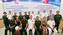 Đoàn đại biểu Bộ Tư lệnh Ấn Độ Dương - Thái Bình Dương (Hoa Kỳ) thăm Bệnh viện Quân y 175