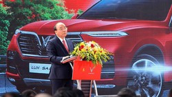 Thủ tướng Nguyễn Xuân Phúc phát biểu tại buổi lễ. Ảnh: TTXVN