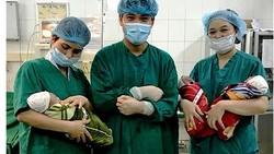 Thai phụ ở Tuyên Quang sinh 3 cùng trứng cực hiếm trên thế giới
