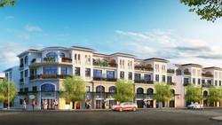 Phối cảnh nhà phố thương mại dự án Senturia Nam Sai Gon