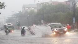 Nhiều tỉnh thành miền Nam sẽ mưa 300 - 400mm