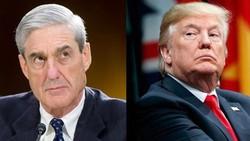 Tổng thống Mỹ Donald Trump (phải) và Công tố viên đặc biệt Robert Mueller (Ảnh: Getty)