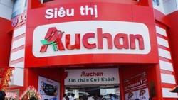Chuỗi bán lẻ Auchan rút khỏi Việt Nam