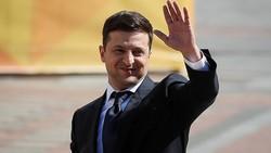 Tân Tổng thống Ukraine Volodymyr Zelensky. Ảnh: REUTERS