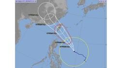 Xuất hiện bão Bailu