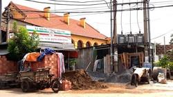 Nhếch nhác ở di tích Thành cổ Biên Hòa