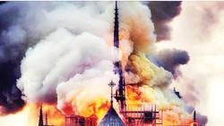 Nhà thờ Đức Bà Paris cháy: Cần 10-20 năm phục dựng