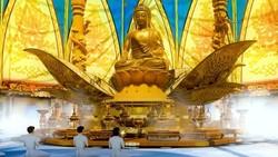 Xây tượng Phật tại Tân Huê Viên có phải xin phép?