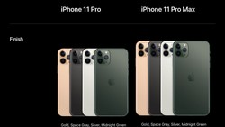 Apple ra mắt bộ ba iPhone 11 mới