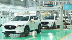 Nhà máy Thaco Mazda của Công ty Cổ phần ôtô Trường Hải. (Ảnh: Thống Nhất/TTXVN)