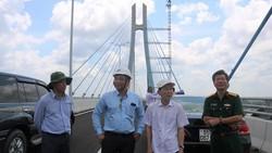 UBND TP Cần Thơ cùng các ngành liên quan đang khẩn trương chuẩn bị địa điểm khánh thành cầu Vàm Cống vào ngày 19-5