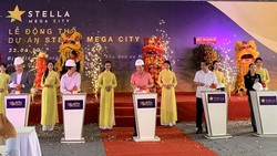 Lễ khởi công dự án Stella Mega City tại TP Cần Thơ