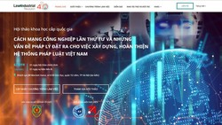 Công bố website về cách mạng công nghiệp lần thứ 4 và những vấn đề pháp lý