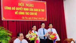 Trao quyết định cho đồng chí Lê Quang Mạnh