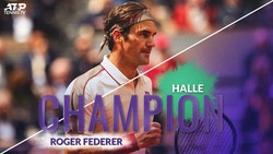 "Roger Federer giành danh hiệu ""thập toàn thập mỹ"" ở Halle Open"
