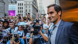 Federer được chào đón nồng nhiệt ở US Open