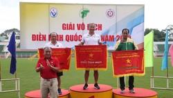 Đoàn Quân Đội xuất sắc về nhất toàn đoàn tại giải vô địch điền kinh Quốc gia năm 2019. Ảnh: Dũng Phương