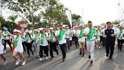 Đà Nẵng: 3.800 vận động viên tham gia chạy Olympic vì sức khỏe toàn dân năm 2019