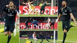 Ajax - Real Madrid 1-2: VAR cứu nguy, Benzema, Asensio kịp lập công giành 3 điểm