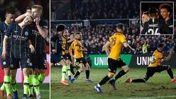 Newport County - Man City 1-4: Sane, Foden, Mahrez lập công, Pep Guardiola vào tứ kết FA Cup