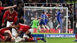 Chelsea - Man United 0-2: Herrera, Pogba tỏa sáng, HLV Solskjaer loại Sarri khỏi FA Cup