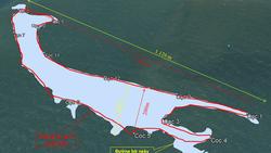 Cồn cát nổi bất thường tại biển Cửa Đại: Tăng kích thước cả chiều dài lẫn chiều rộng