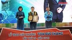 10 kỹ sư, công nhân xuất sắc được vinh danh Giải thưởng Tôn Đức Thắng 2019