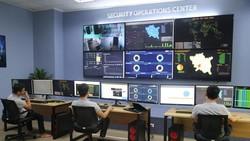 Bên trong trung tâm điều hành an ninh mạng tỉnh Thái Bình