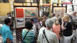 Hơn 150 hình ảnh tại triển lãm về hoạt động ngoại giao đầu tiên của Quốc hội Việt Nam