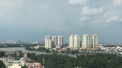 Một phần khu đô thị phía Đông TPHCM. Ảnh: Huy Anh
