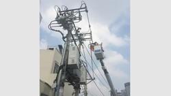 Đảm bảo an toàn lưới điện mùa mưa