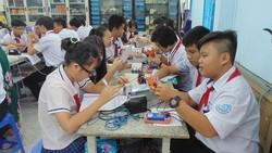 TPHCM: Áp dụng mức thu học phí mới đối với bậc học nhà trẻ và THCS