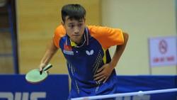 Tay vợt Nguyễn Anh Tú đã giành HCV đơn nam. Ảnh: NGUYỄN TÙNG LÂM