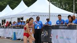 Lê Thị Thoa từng chưa đạt thành tích như mong muốn tại  SEA Games 29. Ảnh: N.ĐẠT