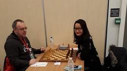 Kim Phụng đã chơi tốt tại giải đấu ở Anh. Ảnh: XUÂN ĐỊNH