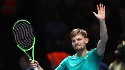 Lọt vào bán kết, nhưng David Goffin tỏ ra rất sợ Federer