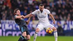 Karim Benzema (phải) vẫn luôn là con át chủ bài của Real Madrid trên tuyến tấn công. Ảnh: Getty Image.