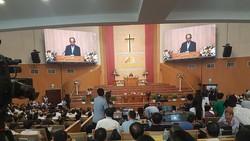 Quang cảnh phiên khai mạc đại hội
