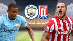 "Man City (1) - Stoke City (15) 7-2: Man xanh ""nghiền nát"" Stoke"
