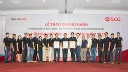 Ngói bê tông SCG (Việt Nam) đạt 3 chứng chỉ quốc tế về hệ thống quản lý
