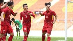 U23 Việt Nam - U23 Myanmar 4-0: Quang Hải lập 2 siêu phẩm, Công Phượng xuất sắc nhất trận