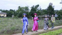 Phu nhân các bộ trưởng APEC trải nghiệm di sản Quảng Nam