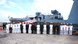 2 tàu chiến của Hải quân Ấn Độ cập cảng Hải Phòng