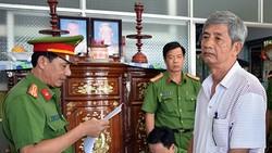 Ông Diệp Văn Sơn, nguyên Giám đốc Sở KH-CN tỉnh Trà Vinh bị bắt. Ảnh: Công an cung cấp