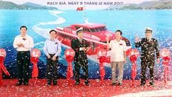 Buổi lễ đưa thêm tàu cao tốc mới chạy tuyến Phú Quốc