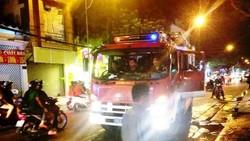 Trường mầm non ở quận Phú Nhuận cháy giữa đêm