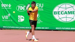 Lý Hoàng Nam tiếp tục vào tứ kết giải Men's Futures